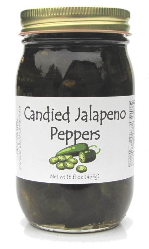 Candied Jalapeno Peppers